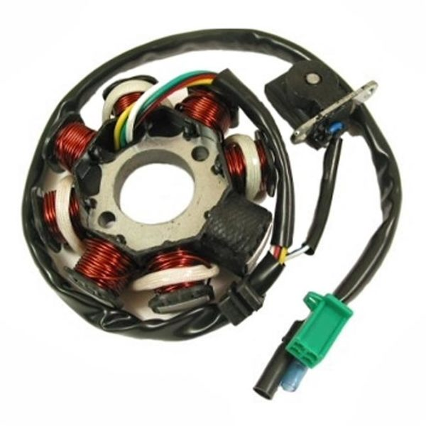 GY6 8 coil Pole Stator  AC