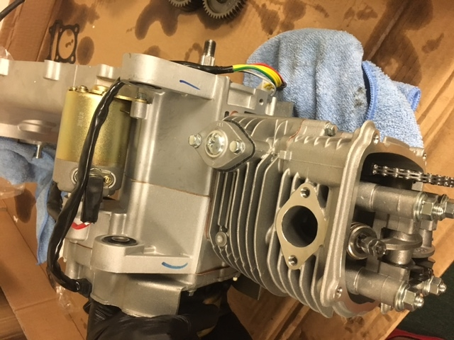 171cc 4-Stroke Long-Case GY6 TAIDA RACE Engine motor COMPLETE