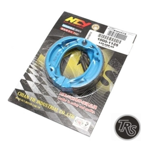NCY Blue Brake Shoes (Drum) Honda Ruckus