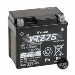 FACTORY HONDA RUCKUS BATTERY Yuasa YUAM727ZS YTZ7S Battery