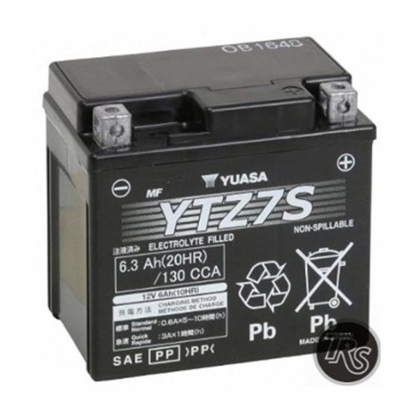 FACTORY HONDA RUCKUS BATTERY Yuasa YUAM727ZS YTZ7S Battery