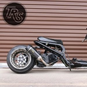 Two Brothers TBR Tarmac Exhaust (Carbon Fiber) gy6 fatty
