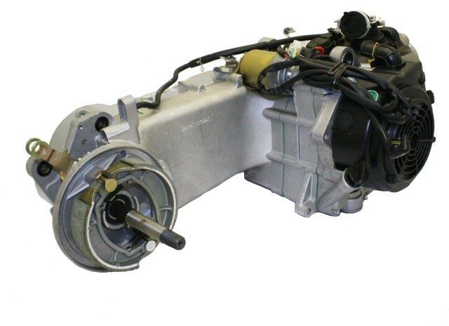 150cc 4 Stroke Long Case GY6 Motor Engine 8 pole SHIPS FREE