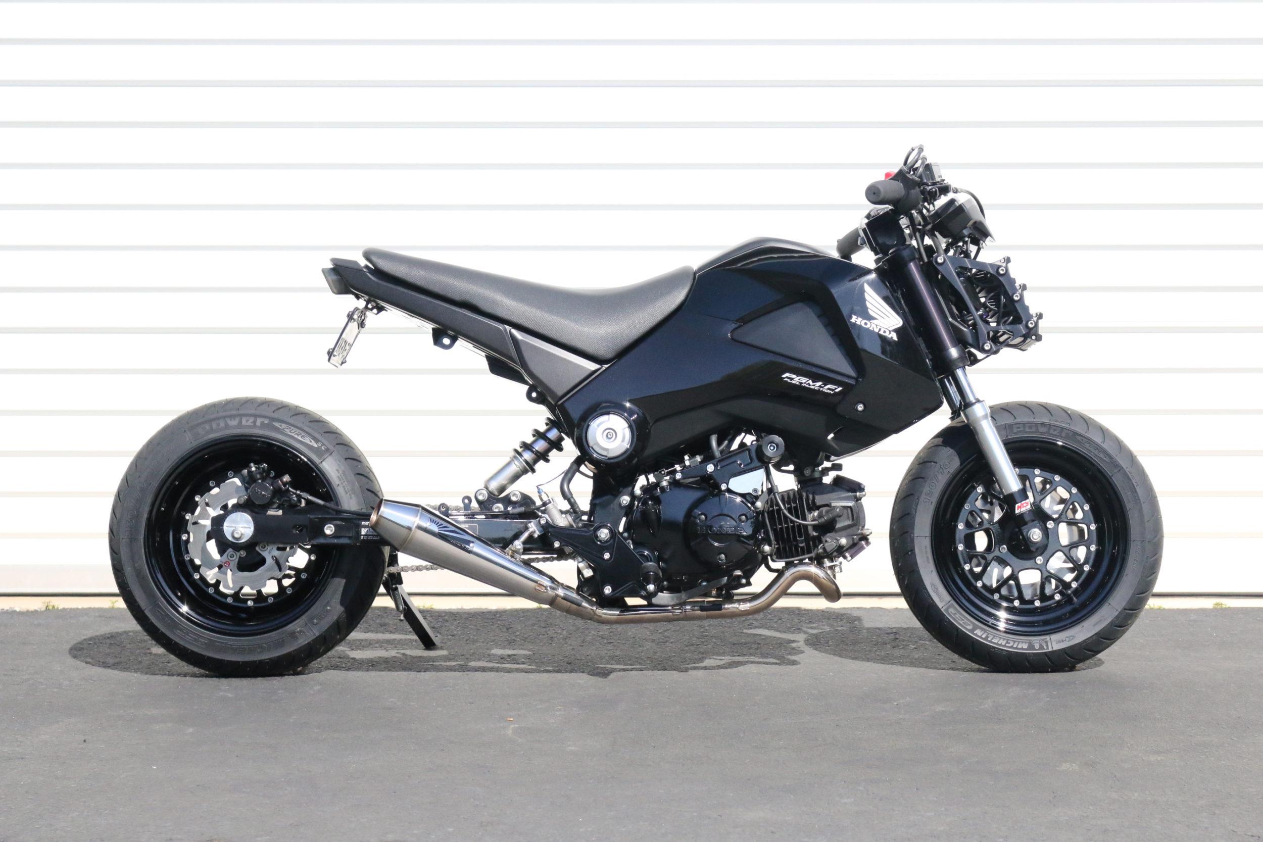 Honda Factory Rims >> TRS RaceSets Rear Sets for Honda Grom MSX 125 Rearset ...