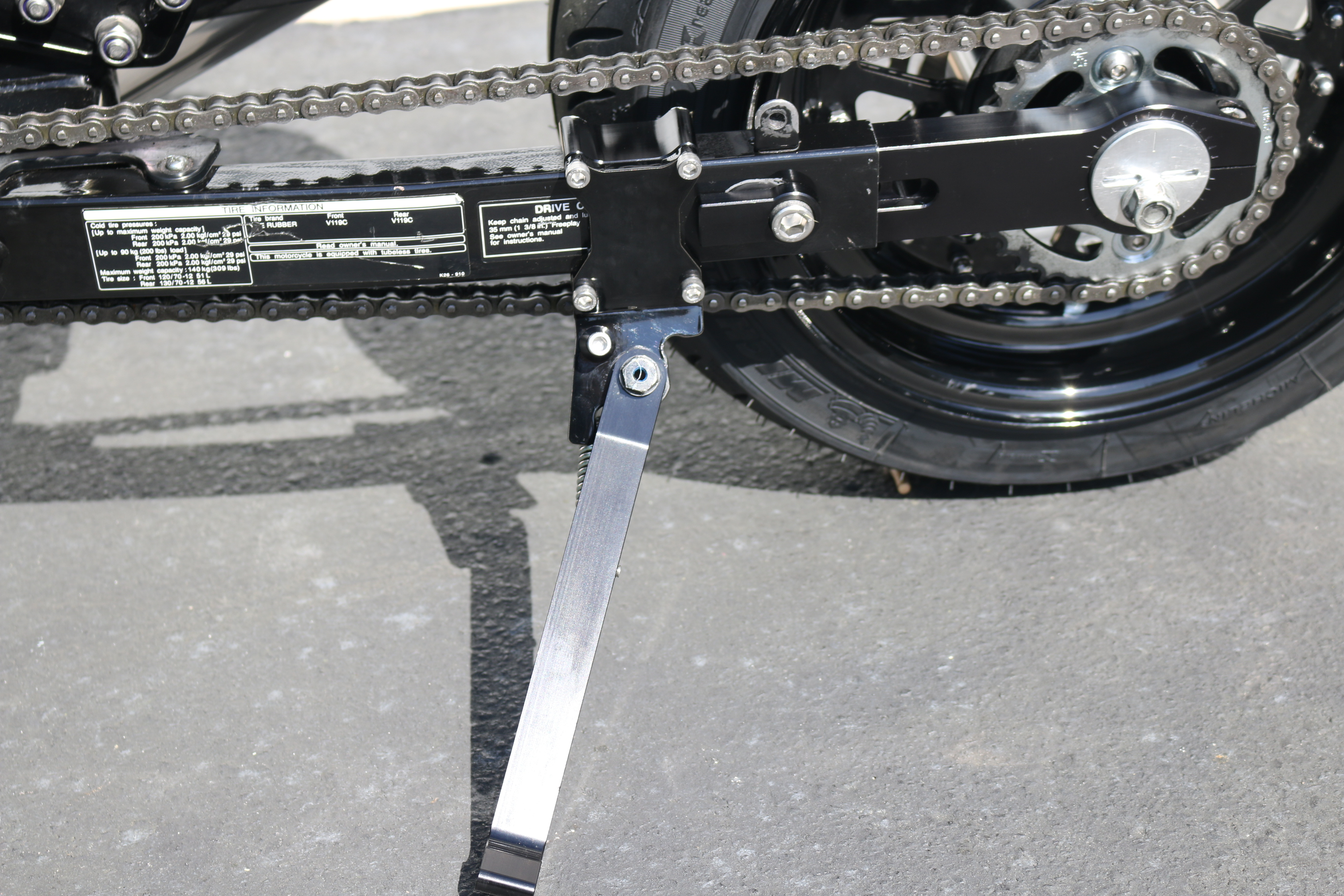 GROM Stainless Steel 'SwingStand' Kickstand Mount