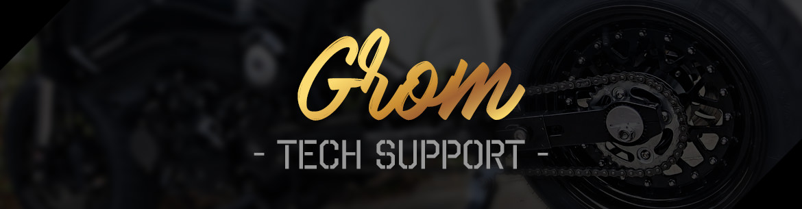 TRS Grom tech support